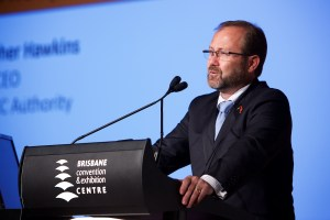 The APEC PNG Authority's Chris Hawkins
