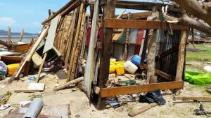 Fiji's remote islands hit hard. Credit: RNZI
