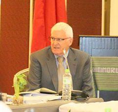 The ADB's Dr Peter Dirou