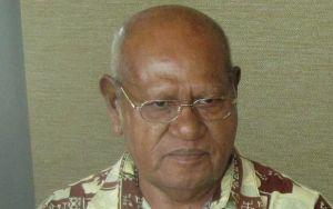 Bougainville President, John Momis. Credit: RNZI.