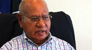 Bougainville Governor, Dr John Momis. Credit; EMTV