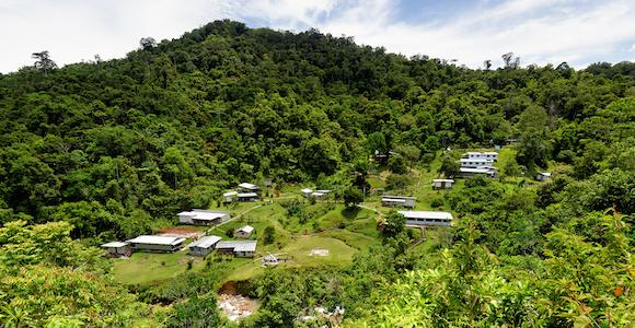 Frieda River camp. Source: PanAust