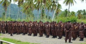 Turning security guards into role models in Papua New Guinea
