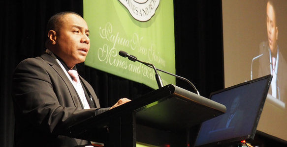 Byron Chan, Minister for Mining Source: Business Advantage International