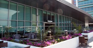 Sogno Restaurant, Harbourside Credit: BAI