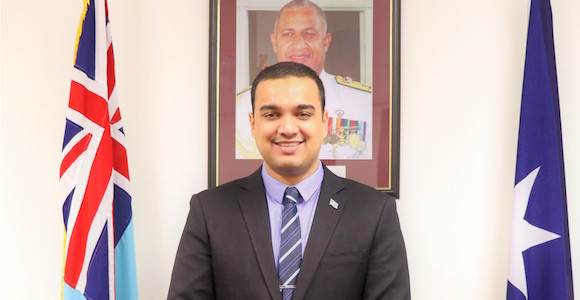 Zarak Khan, Fiji's Consul General and Trade Commissioner in Sydney Source: Fiji Trade Commission