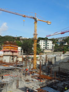 Construction in Port Moresby Source: Business Advantage International