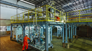 Simulated gas processing plant for Papua New Guinea's oil and gas training academy