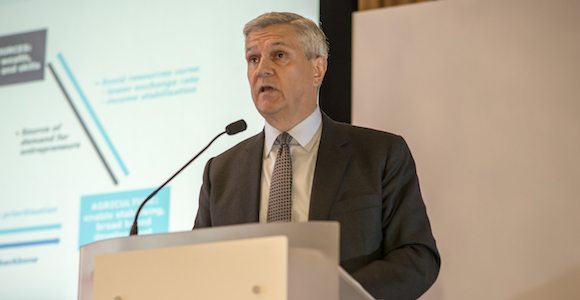 Mark Baker addresses infrastructure challenges