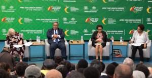 APEC on track despite frictions over regional trade says Executive Director Bollard
