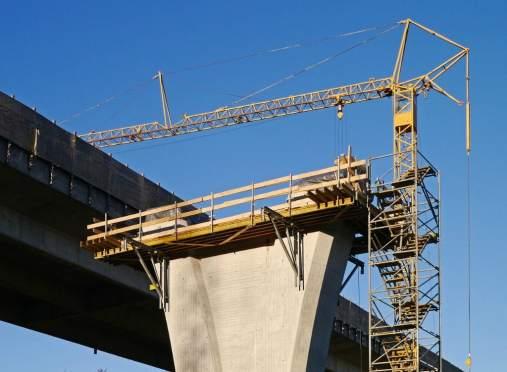 construction site bridge lifting machine