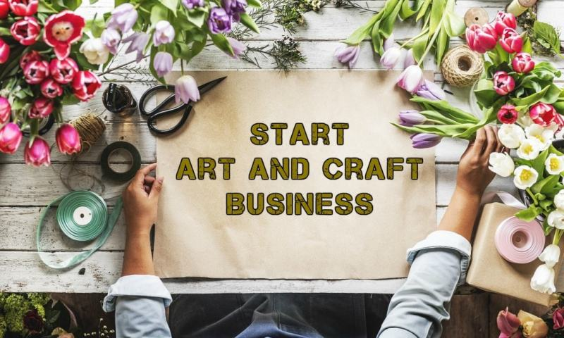 How to Start an Art and Craft Business {Creatively}
