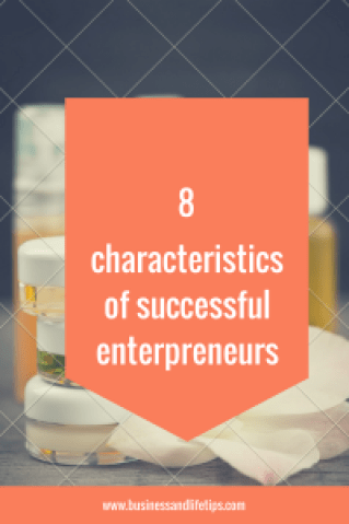 Characteristics of successful entrepreneurs