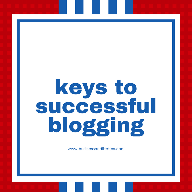 keys to a successful blogging