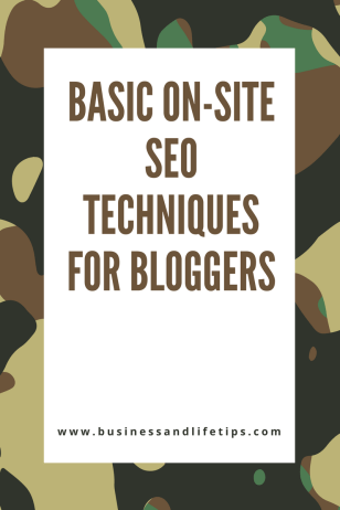 Basic on-site SEO
