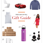 FIRST DAY OF FALL GIFT GUIDE
