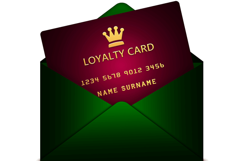 Loyalty card used as a key component for personal finance management for students