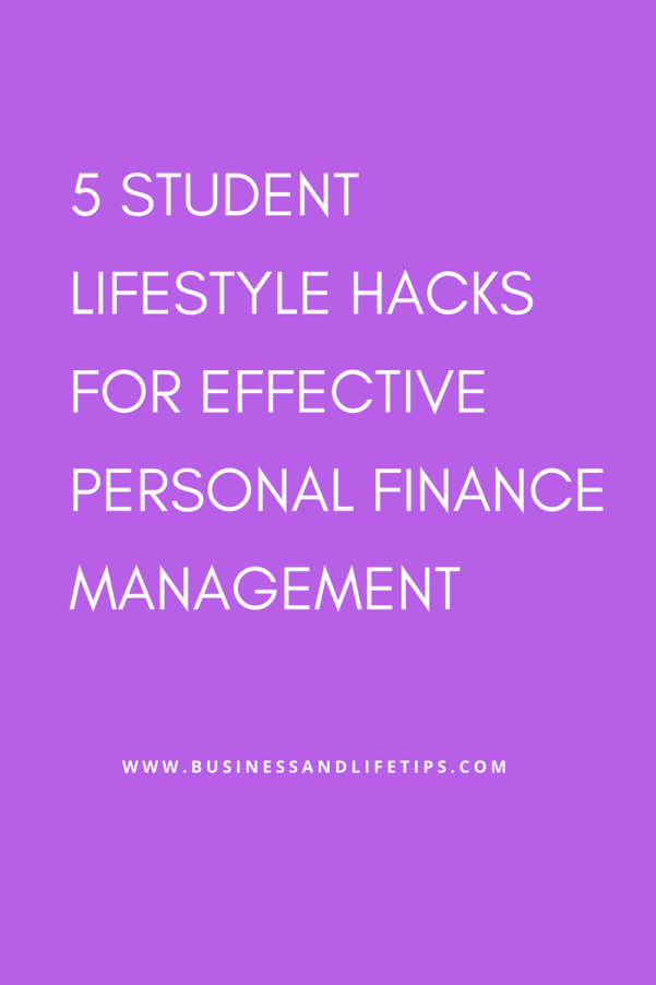 Personal Finance management for students
