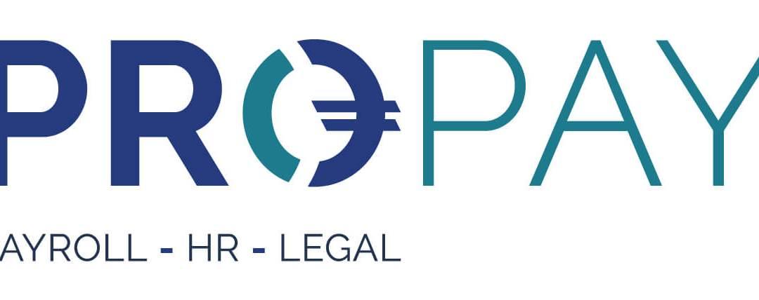 New logo Pro-Pay, world-class Belgian payroll