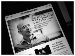 Jeff Bezos buys Washington Post