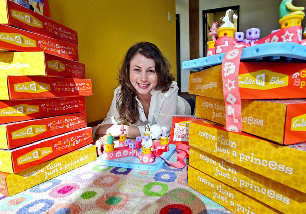 Debbie Sterling and GoldieBlox Create Toys for Future Innovators
