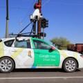 Google car gathering data for Google Maps