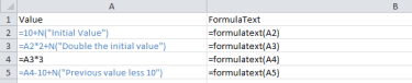FormulaText Example