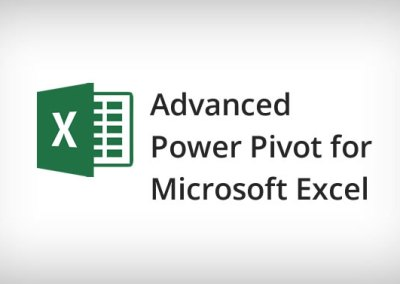 Advanced Power Pivot For Microsoft Excel Training Course