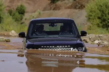 mcdonald landrover range rover wading