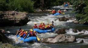 Wet spring forecasts busy summer for rafters