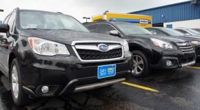 Denver drivers create hot spot for Subaru