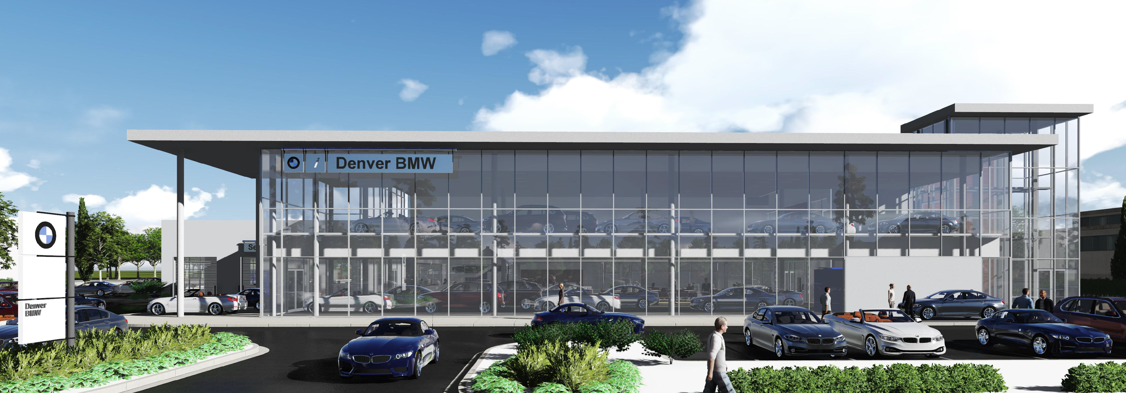 Businessden double decker dealerships planned for colorado for Murray motors denver mercedes