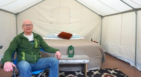 Outdoor rental company gets on board with glamping