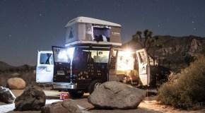 Campervan rental service test drives Denver market