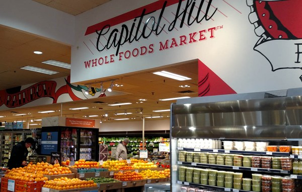 Whole Foods will close its Capitol Hill location at 11th Avenue and Ogden Street this fall. (Burl Rolett)