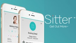 Sitter is an app helping parents schedule and pay babysitters. (Courtesy Sitter)