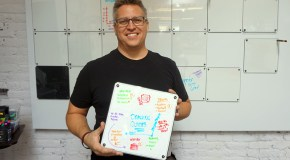 Upscale whiteboard startup takes two on Kickstarter