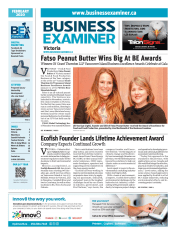 Business Examiner Victoria February 2020 Cover