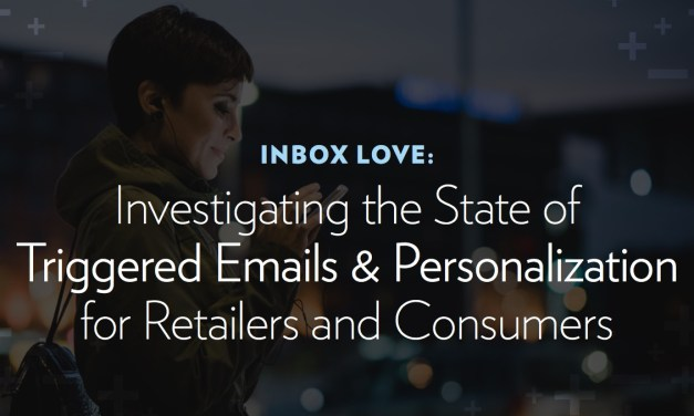 "Inbox Love: Investigating the State of Triggered Emails <span class=""amp"">&</span> Personalization for Retailers and Consumers"