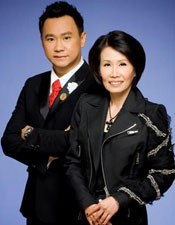 Angela Liew and Rayne Ho