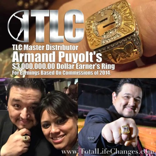 Armand Puyolt $3 Million Earner Ring