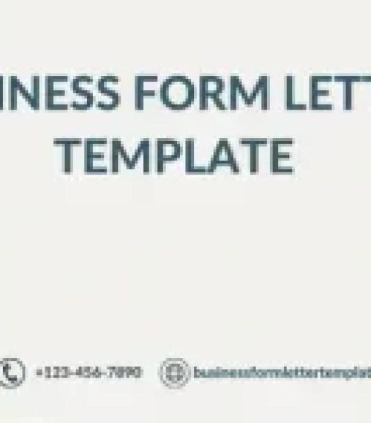 Tenancy Notice Letter Template Uk