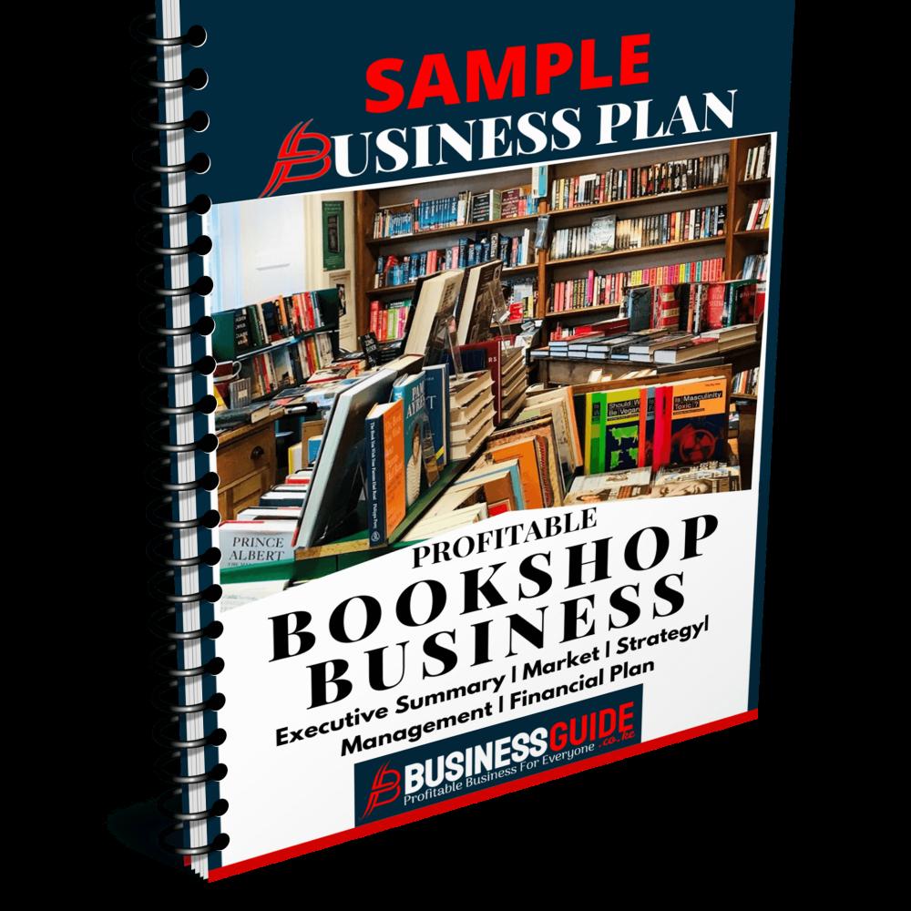 bookshop business plan sample pdf