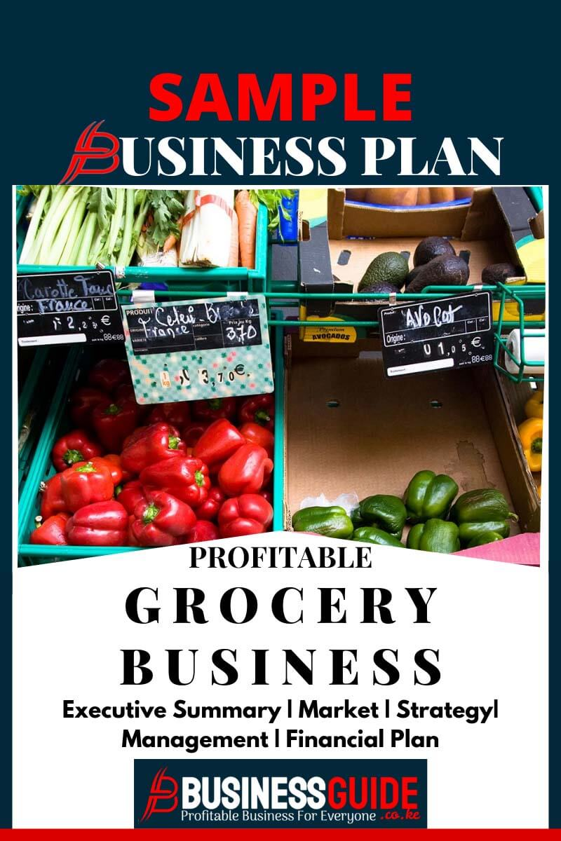 grocery store business plan pdf