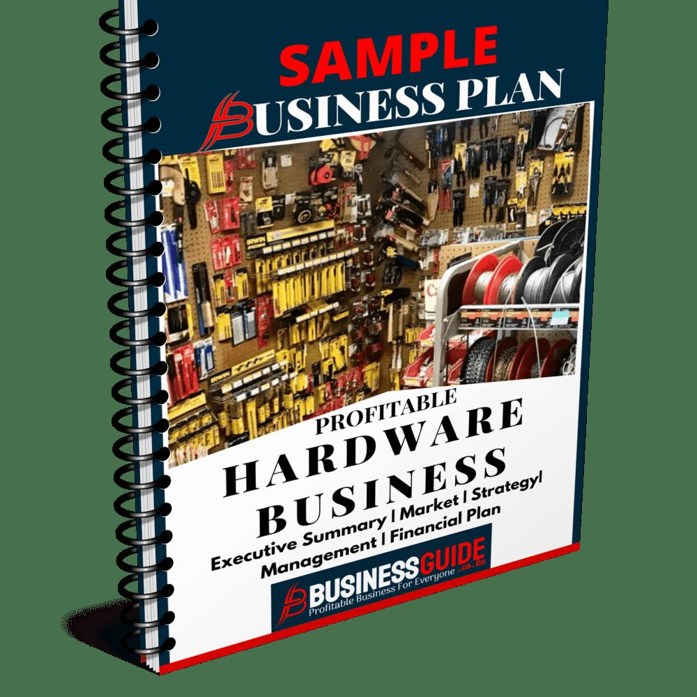 hardware business plan sample