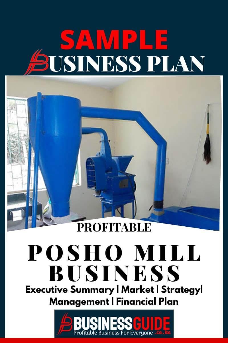 posho mill business plan sample
