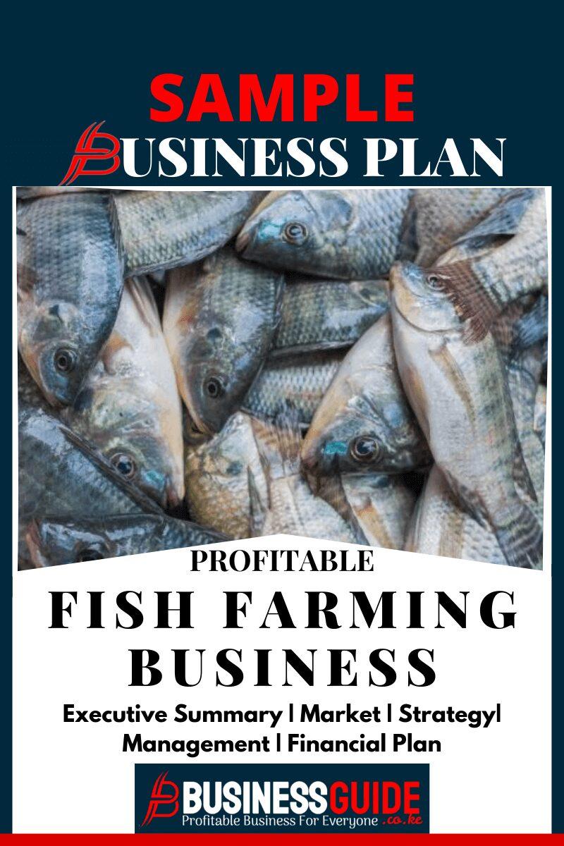 fish farming business plan sample