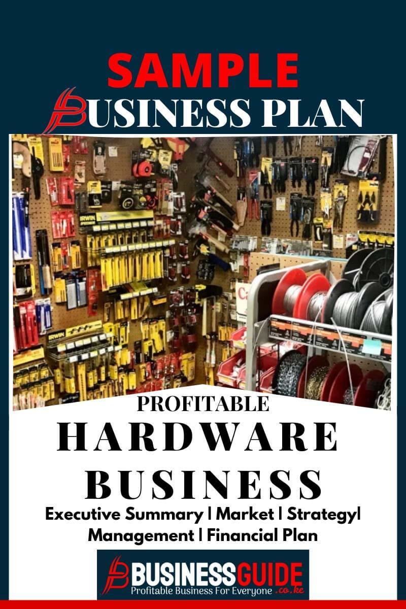 hardware business plan pdf