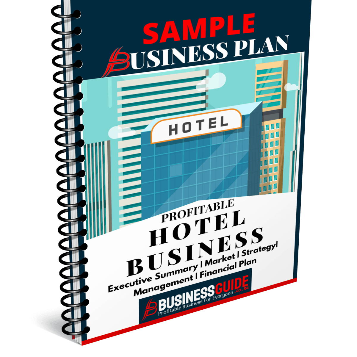 hotel business plan sample