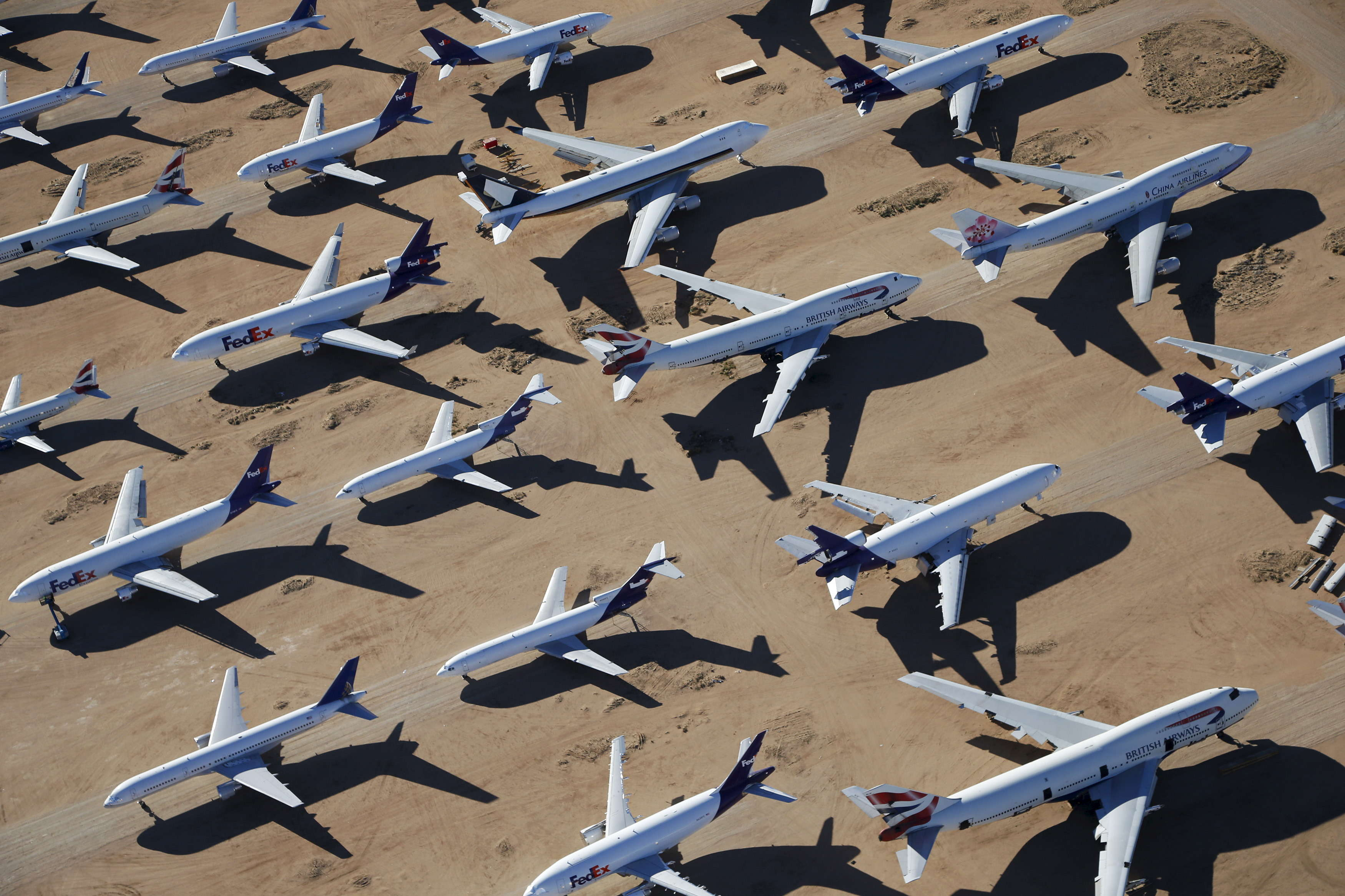 The airline has a massive fleet of more than 50 747-400s.